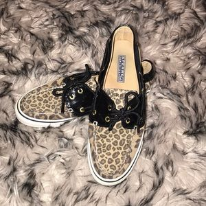 Leopard Sperry Top-Sider